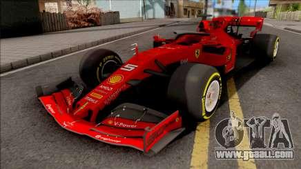 F1 Ferrari 2019 for GTA San Andreas
