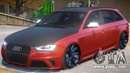 Audi RS4 V1.2 for GTA 4