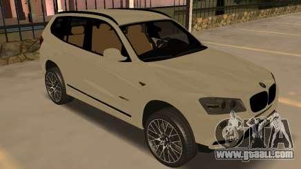 BMW X3 F25 2012 v1.0 Bulkin edition for GTA San Andreas