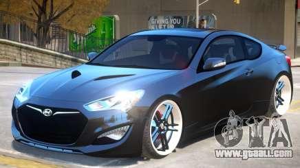 Hyundai Genesis V1 for GTA 4