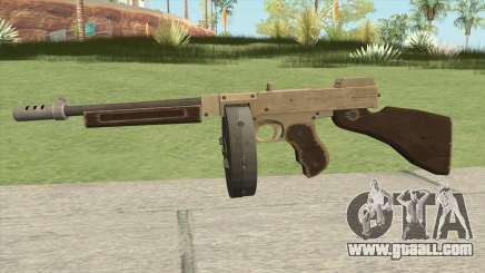 Edinburgh Gusenburg Sweeper GTA V (Army) V1 for GTA San Andreas