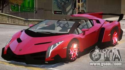 Lamborghini Veneno V1.2 for GTA 4