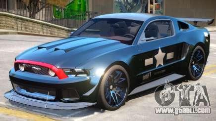 Ford Mustang GT PJ4 for GTA 4