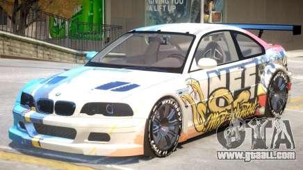 BMW M3 GTR PJ5 for GTA 4