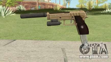 Hawk And Little Pistol GTA V (Army) V3 for GTA San Andreas