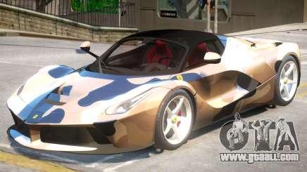 Ferrari LaFerrari V2 PJ for GTA 4
