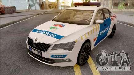 Skoda Superb Magyar Rendorseg for GTA San Andreas