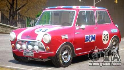 Mini Cooper V1 PJ2 for GTA 4