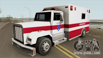 Brute Enforcer (Ambulance) for GTA San Andreas