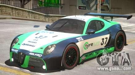 Alfa Romeo 8C V1 PJ1 for GTA 4