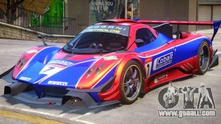 Pagani Zonda R PJ1 for GTA 4
