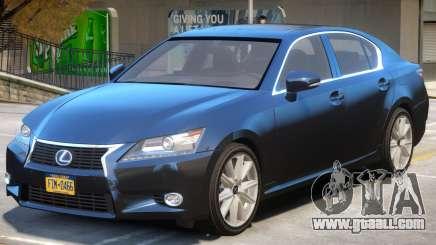 Lexus GS300H for GTA 4