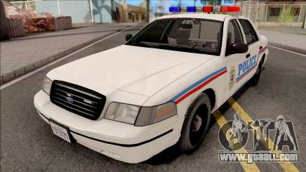 Ford Crown Victoria 1999 SA State Police for GTA San Andreas