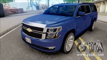 Chevrolet Suburban 2015 LTZ Lowpoly for GTA San Andreas