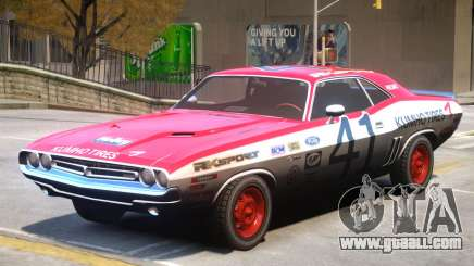 Dodge Challenger V1 PJ1 for GTA 4