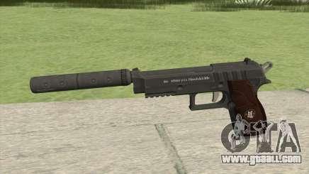 Hawk And Little Pistol GTA V Black (New Gen) V6 for GTA San Andreas