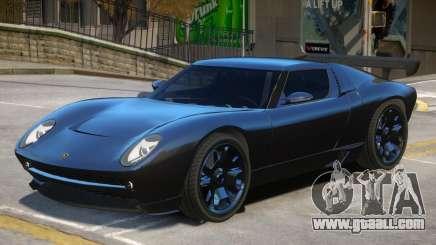 Lamborghini Miura Stock for GTA 4