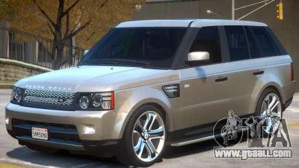 Range Rover Sport V1.1 for GTA 4