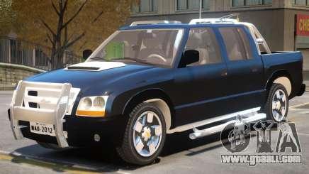 Chevrolet S10 V1 for GTA 4