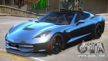 Chevrolet Corvette 3LT V1.1 for GTA 4