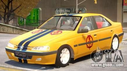 Peugeot Pars V1 PJ4 for GTA 4