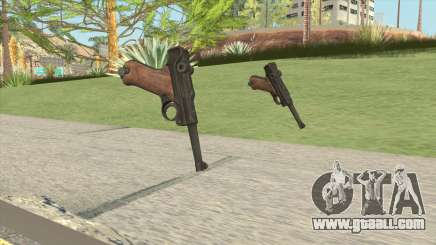 Luger P08 (Day Of Infamy) for GTA San Andreas