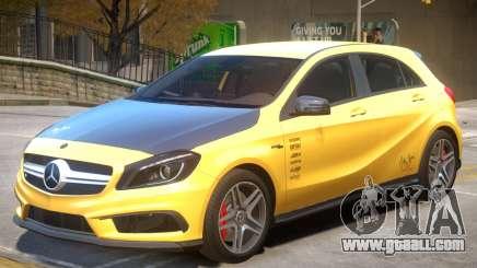 Mersedes Benz A45 V1 PJ4 for GTA 4