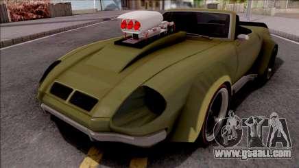 FlatOut Lancea Cabrio Custom for GTA San Andreas