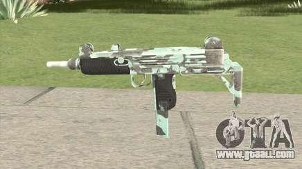 Uzi (Aquamarine) for GTA San Andreas