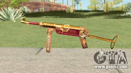 MP-40 (Bloody Gold) for GTA San Andreas