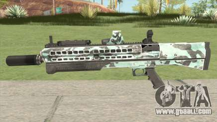 Shotgun (Aquamarine) for GTA San Andreas
