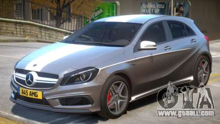 Mersedes Benz A45 V1 PJ9 for GTA 4