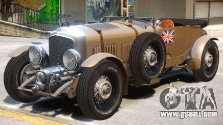 Bentley Blower V1 for GTA 4