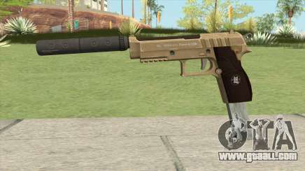 Hawk And Little Pistol GTA V (Army) V7 for GTA San Andreas