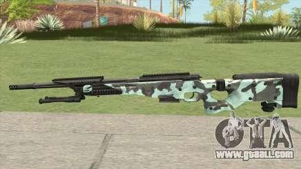 Rifle (Aquamarine) for GTA San Andreas