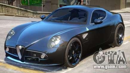 Alfa Romeo 8C V1.2 for GTA 4