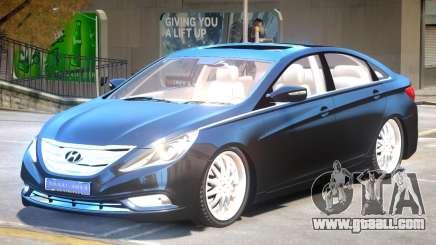 Hyundai Sonata V1.2 for GTA 4