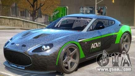 Aston Martin Zagato V1 PJ1 for GTA 4