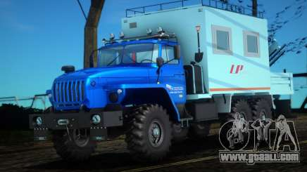 Ural 44202-0311-60Е5 - Mobile workshop LP for GTA San Andreas