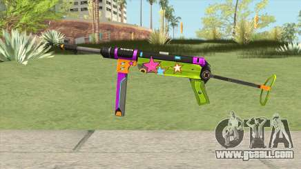 MP-40 (New Year) for GTA San Andreas