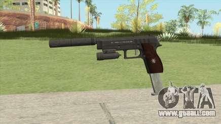 Hawk And Little Pistol GTA V Black (New Gen) V3 for GTA San Andreas