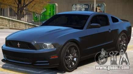 Ford Mustang V2.1 for GTA 4