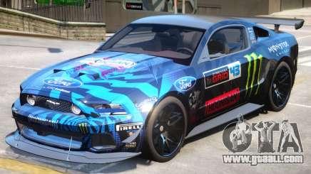 Ford Mustang GT PJ2 for GTA 4
