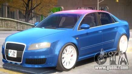 Audi RS4 V2 PJ2 for GTA 4