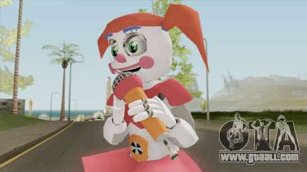 Circus Baby With Microphone (FNAF) for GTA San Andreas