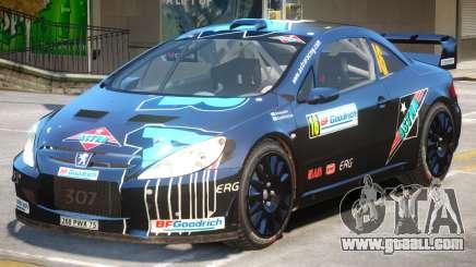 Peugeot 307 WRC PJ2 for GTA 4