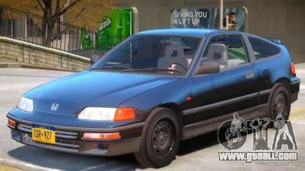 1991 Honda CRX for GTA 4
