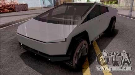 Tesla Cybertruck for GTA San Andreas