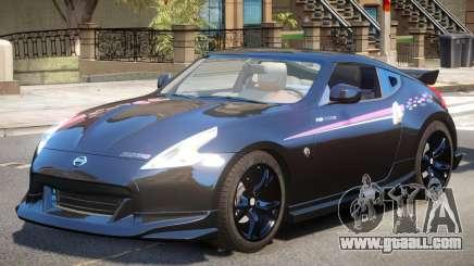Nissan 370Z Upd PJ for GTA 4