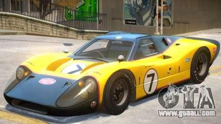 1967 Ford GT40 V1 PJ3 for GTA 4